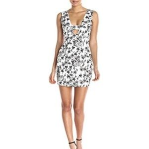 Lucca Couture floral woven high waist NWT